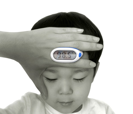 """Duck Young Kong's, """"Lunar Baby Thermometer"""""""