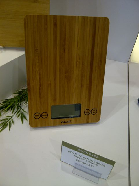 Bamboo Kitchen Scales