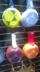Love the soccer ball motif from Imusa